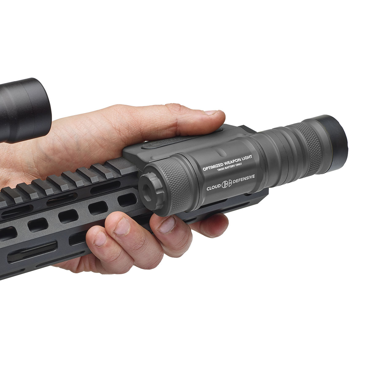 Tactical rifle light