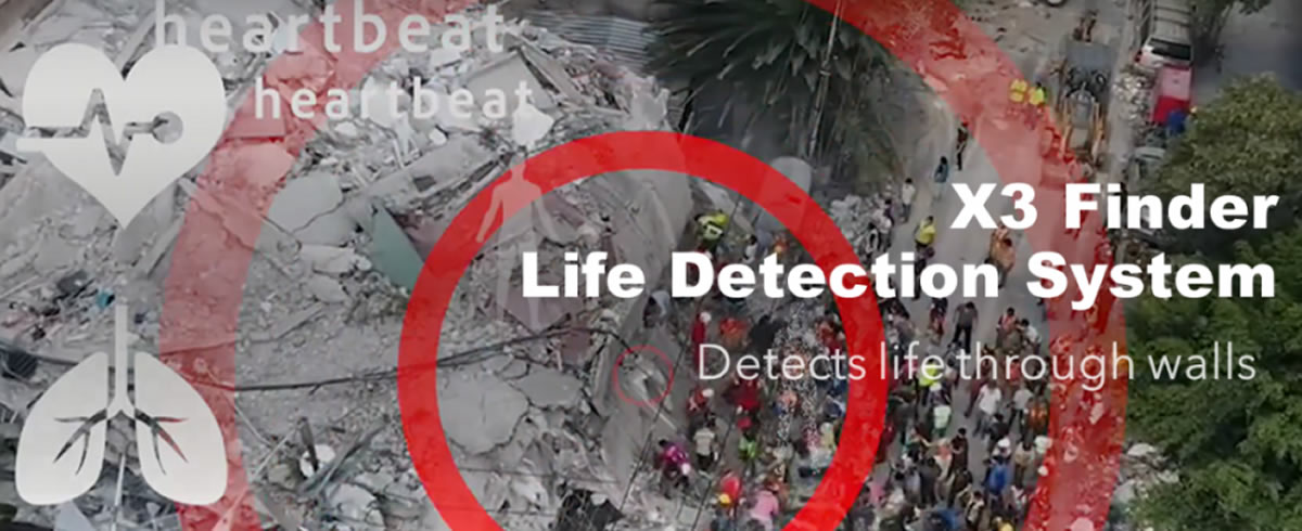 LIFEFINDER – LIFE DETECTION SYSTEM
